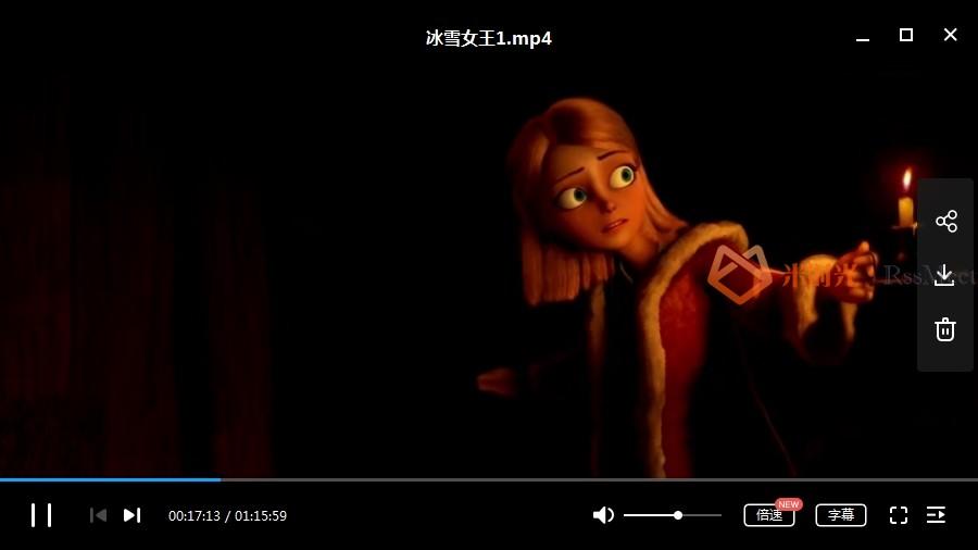 《冰雪女王》4部+《冰雪奇缘》2部合集高清英语中字[MKV/MP4/9.79GB]百度云网盘下载-米时光