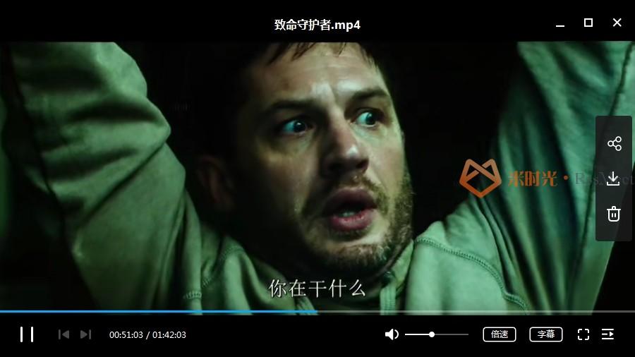 漫威电影《毒液》系列1部高清英语中字[MP4/4.86GB]百度云网盘下载-米时光