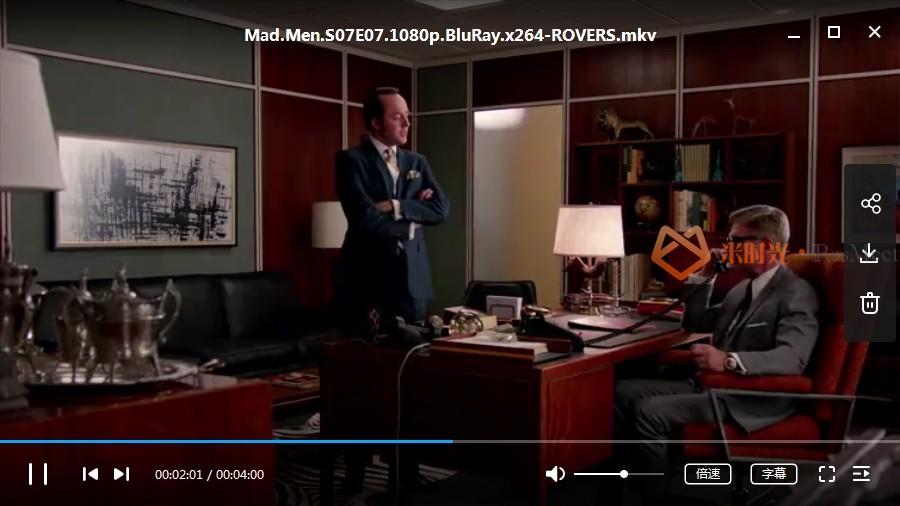 美剧《广告狂人(Mad Men)》第1-7季超清百度云网盘下载[MKV/336.10GB]英语中字-米时光