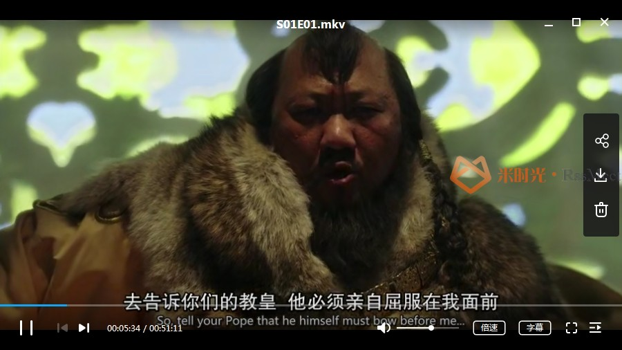 美剧《马可波罗》第1-2季未删减高清百度云网盘下载[MKV/MP4/720P/12.23GB]英语中字-米时光