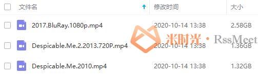 《神偷奶爸/卑鄙的我》第1-3部百度云网盘下载超清[MP4/5.26GB]英音中字-米时光