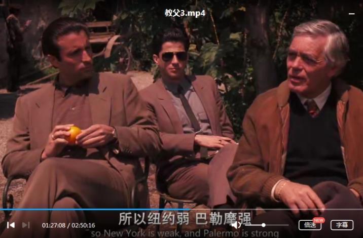 电影《教父1-3》部高清百度云网盘下载[MP4/19.66GB]英语中字-米时光