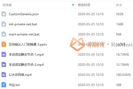 区块链教程-区块链技术从入门到精通视频(带源码+工具)合集[MP4/4.12GB]百度云网盘下载-米时光