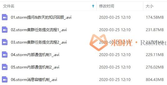 大数据教程-大数据就业班完整版视频教程合集[AVI/FLV/60.61GB]百度云网盘下载-米时光