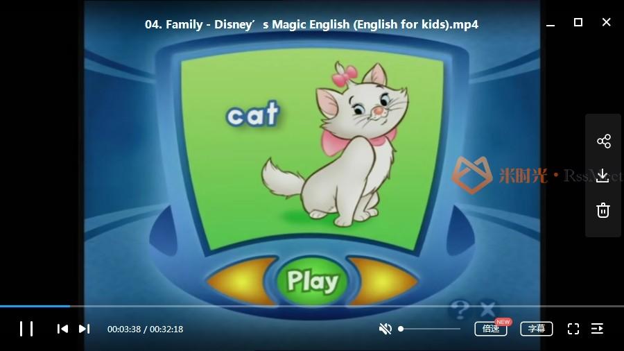 《迪士尼神奇英语(Disney's Magic English)》国外55集高清版+国内33集版高清[MP4/15.69GB]百度云网盘下载-米时光