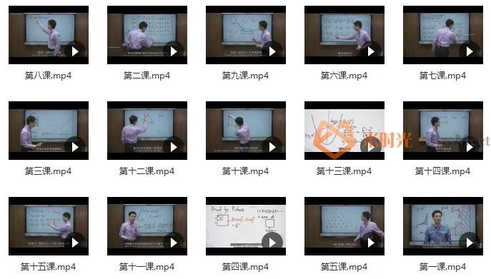 美国奥数队总教练罗博深《代数与无穷数的计算15节》(中学阶段)[MP4/1.99GB]百度云网盘下载-米时光