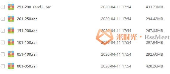 喜马拉雅FM余秋雨《中国文化必修课》百度云网盘下载资源(290集完结)[MP3/压缩包/1.97GB]-米时光