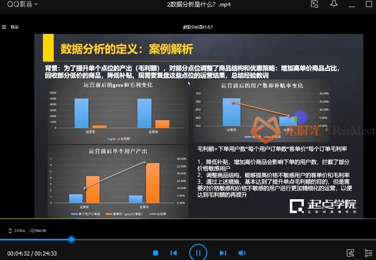 起点学院《15天入门互联网数据分析》视频课程百度云网盘下载资源(完整版)[MP4/679.77MB]-米时光