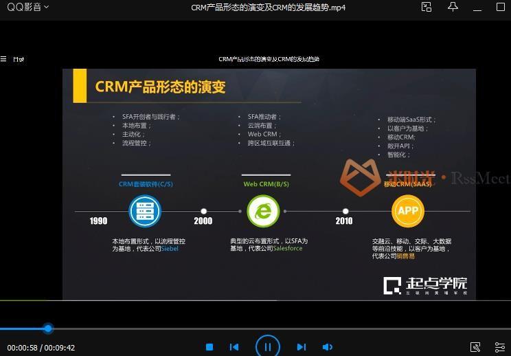 起点学院《CRM会员系统设计》视频课程百度云网盘下载资源(完整版)[MP4/1.21GB]-米时光