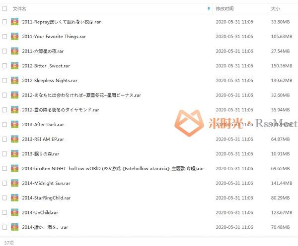 《赵女士/Aimer》歌曲合集百度云网盘下载(2011-2020年37张专辑/单曲)[MP3/2.81GB]-米时光