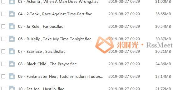 《速度与激情OTS原声大碟》(1-8部)无损歌曲合集百度云网盘下载(2001-2017年8张专辑)[FLAC/2.87GB]-米时光