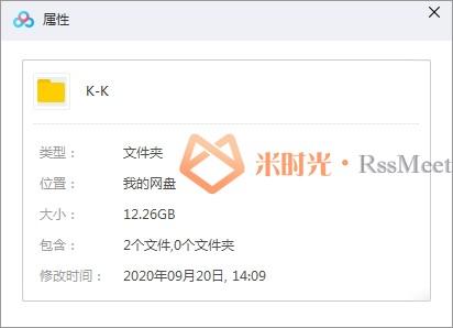 日漫《K》第1-2季全集百度云网盘资源分享下载[MP4/720P/12.26GB][国语无字]-米时光