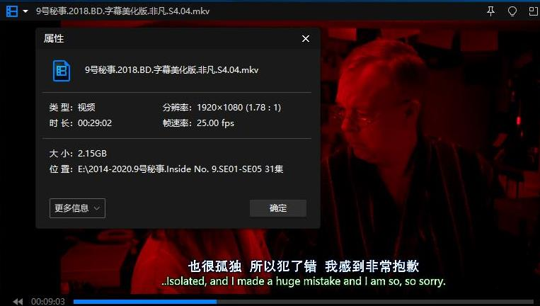 《Inside No.9/9号秘事》[第1-5季+圣诞特别篇]高清1080P百度云网盘下载[MKV/67.09GB]英音中英双字无水印-米时光