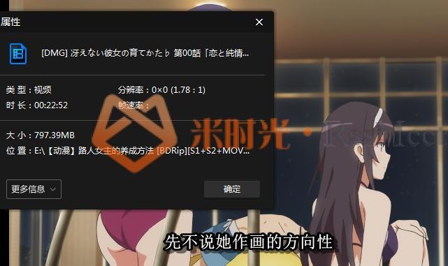 《路人女主的养成方法》[第1-2季/剧场版/电影]百度云网盘下载[MKV/38.74GB]日语外挂中字-米时光