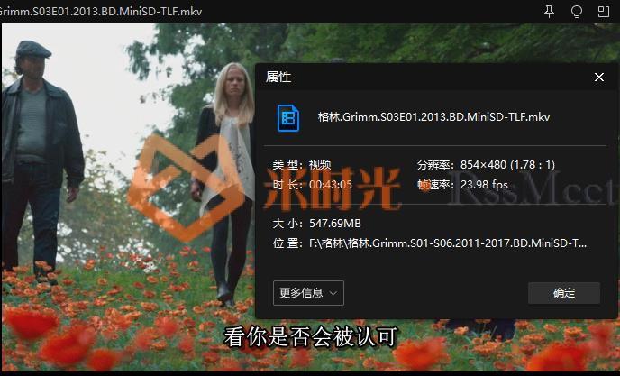 《格林/Grimm》[第1-6季蓝光小体积]百度云网盘下载[MKV/50.08GB]中字无水印-米时光