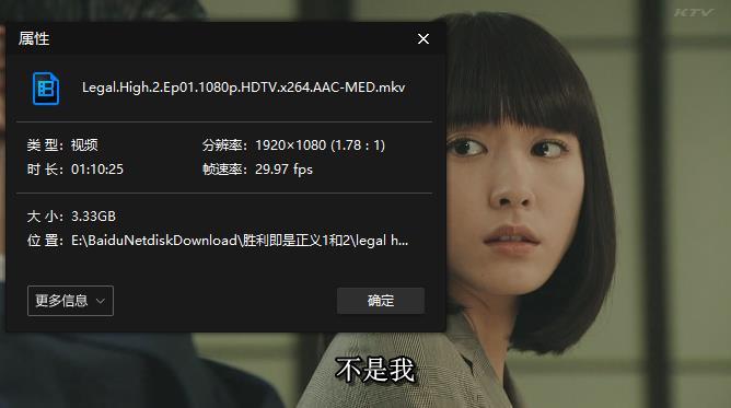 《胜者即是正义/LEGAL HIGH》第1-2季高清1080P百度云网盘下载[MKV/47.51GB]日语中字无水印-米时光