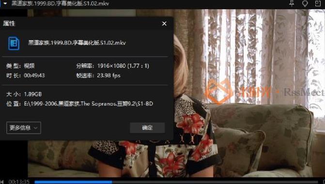《黑道家族/The Sopranos》第1-6季高清1080P百度云网盘下载[MKV/183.29GB]英语中字-米时光