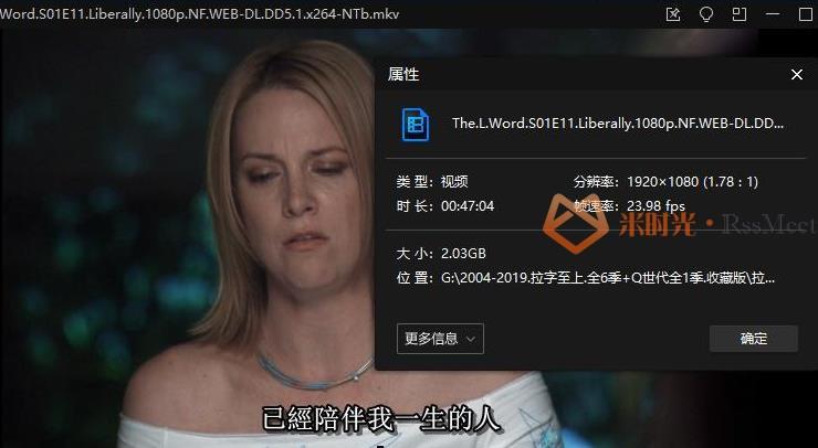 《拉字至上/The L Word》[第1-6季+Q世代]百度云网盘下载[MKV/239.92GB]外挂中字[收藏版]-米时光