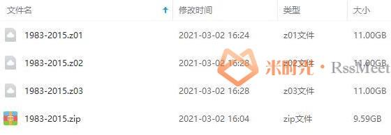 《历届央视春晚(1983-2015)》百度云网盘下载[MKV/42.59GB]-米时光