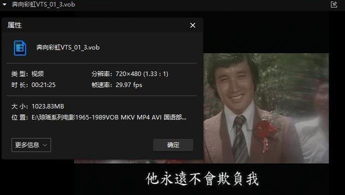 《琼瑶电影作品37部》百度网盘下载[105.13GB]国语部分无字-米时光