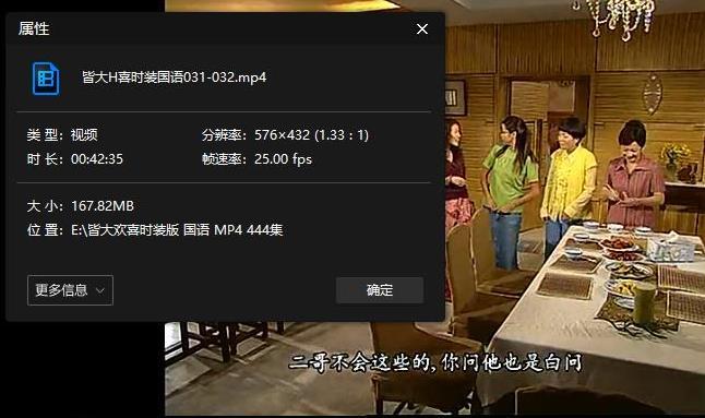 《皆大欢喜时装版》高清百度网盘下载[MP4/37.49GB]国语中字-米时光