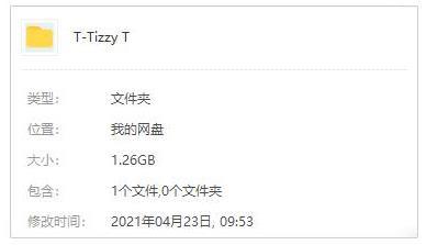 《Tizzy T》歌曲[60首]百度云网盘下载[FLAC/MP3/1.26GB]-米时光