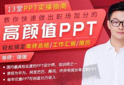 珞珈《高颜值PPT实操指南》视频MP4百度云网盘下载[2.88GB]-米时光