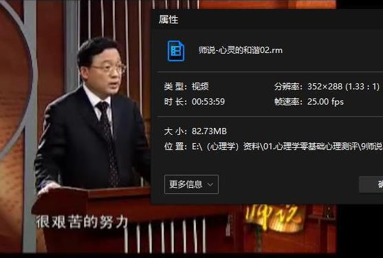 《师说心灵的和谐》视频百度云网盘下载[RM/292.34MB]-米时光