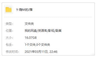 《隐秘的角落》高清4K百度云网盘[含番外]下载[MP4/16.07GB]国语中字-米时光