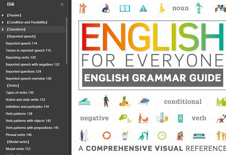 《English for Everyone (Vocabulary & Grammer)》PDF电子版(英语学习经典书,词汇和语法)百度云网盘下载[86MB]-米时光